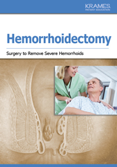 Hemorrhoidectomy (surgical excision)